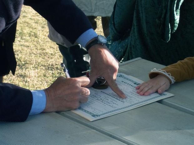 notaris contract